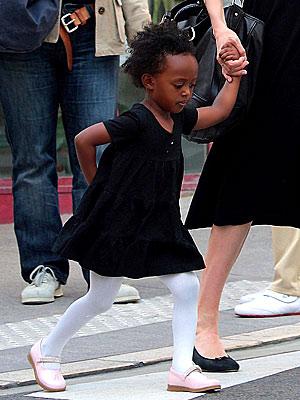 Zahara Jolie-Pitt | CC... Sandra Bullock Kids